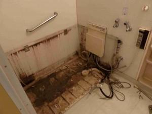 浴槽撤去時