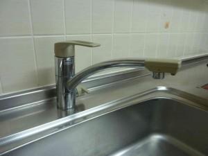 既存の標準水栓です。