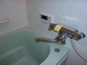 特注の定量止水水栓。