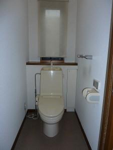 既存のトイレ。