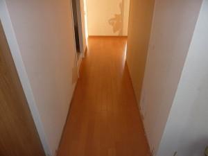 廊下も綺麗に。