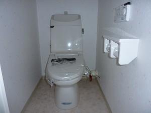 INAX:アメージュV一体型シャワートイレ。