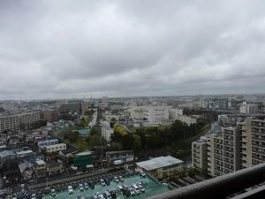 16階からの景色。