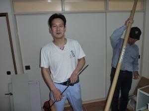 タカラさんの施工担当者。