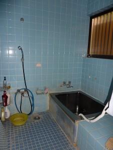 浴室改修前。
