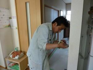 電気担当のノリちゃんで〜す。