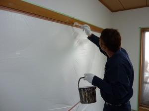 塗装担当の米本君です。