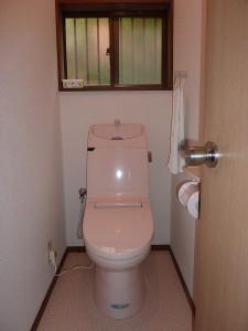 トイレも改修済み。