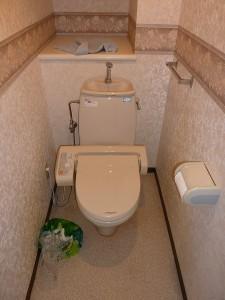 トイレは。。。