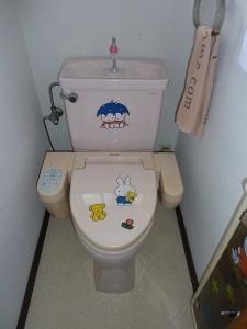 2階のトイレも。。。