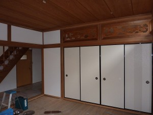 和室8畳間は。。。