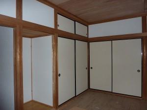 隣の和室6畳は。