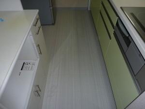 床のクッションフロアも張替え済み。