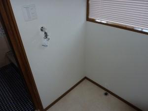 ワンタッチ水栓へ交換済み。